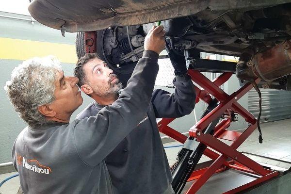 Συνεργείο - Έλεγχος αυτοκινήτου - Μηχανικοί Αυτοκινήτων